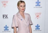 Le look du jour : Diane Kruger, chic en rose pastel sur le tapis rouge