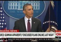Barack Obama exprime sa colère suite à la tuerie de l'Oregon