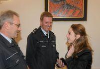 Chloé : retrouvailles avec les policiers qui l'ont sauvée