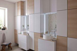 Salle de bains : 50 armoires et colonnes pour tout ranger !