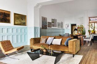 Canapé en velours : le must have d'un salon glamour