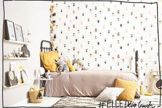 #ELLEDécoCrush : les papiers plein d'histoires de Castorama ou quand les murs racontent des histoires