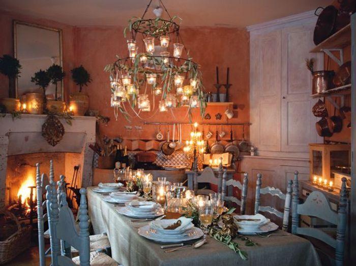 tables de f tes de belles id es pour recevoir elle d coration. Black Bedroom Furniture Sets. Home Design Ideas