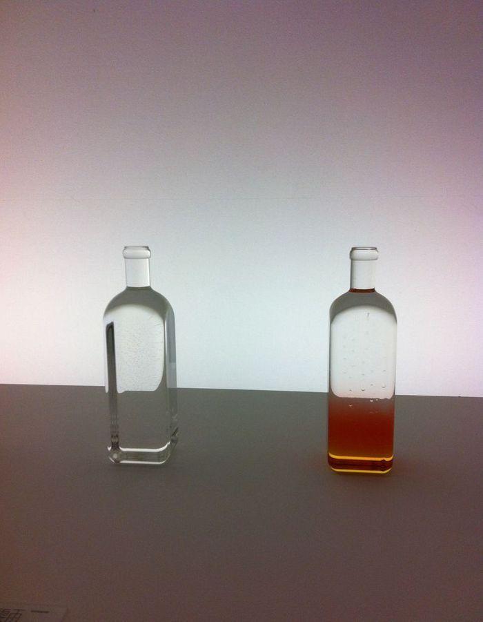 L'observatoire vu par Elizabeth Leriche : Rain Bottle de Nendo