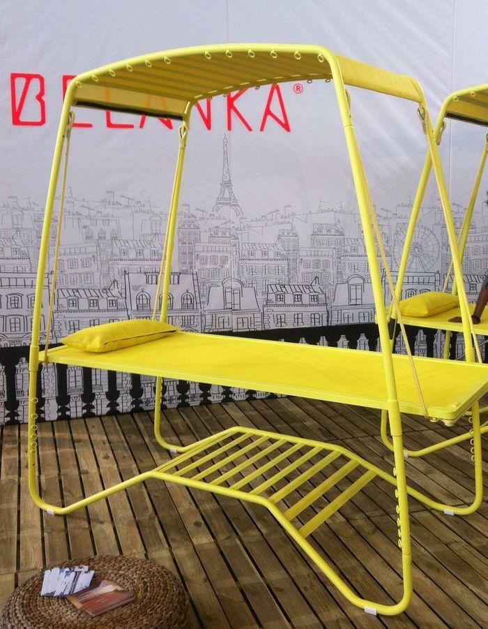 Le bain de soleil Belanka