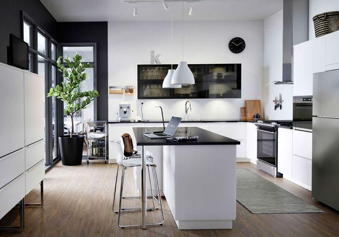 unique la cuisine noire et blanche plus contemporaine que jamais elle gj37