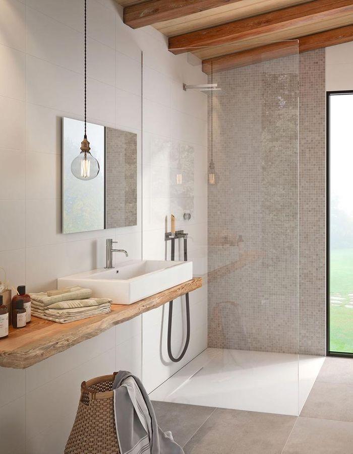 10 fa ons de se cr er une salle de bains zen elle d coration - Une belle salle de bain ...