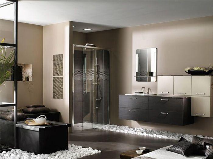 salle de bains zen elle d coration. Black Bedroom Furniture Sets. Home Design Ideas