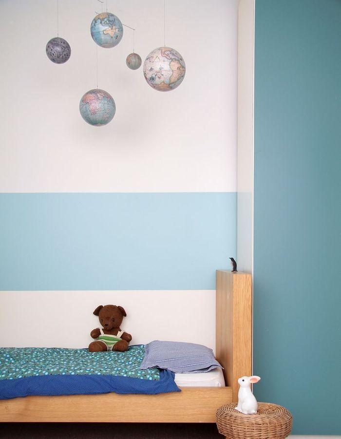 peindre un mur en deux couleurs   dynamisez vos espaces gr u00e2ce  u00e0 un mur bicolore