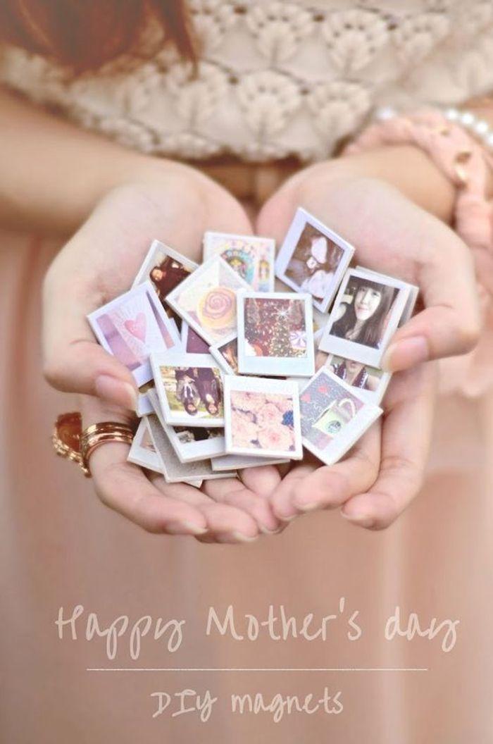 Cadeau f te des m res faire soi m me un magnet photo 20 id es cadeaux de f te des m res - Cadeau fete des meres a faire soi meme ...