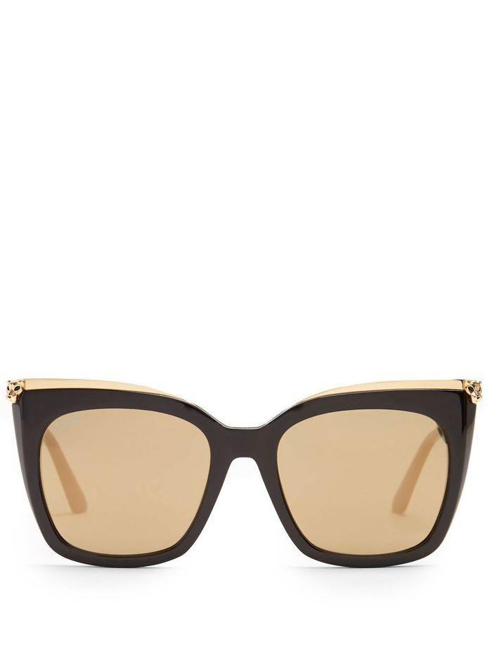 Lunettes de soleil femme été Cartier Eyewear