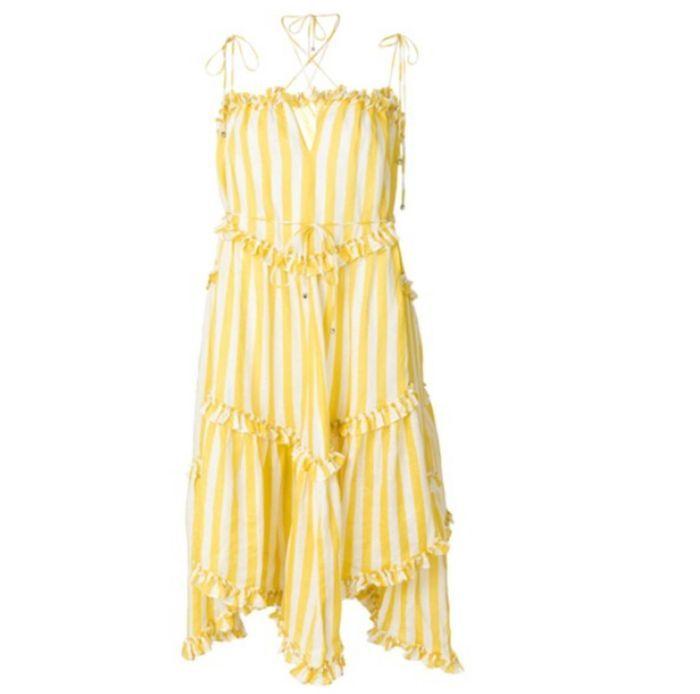 Robe jaune Zimmermann