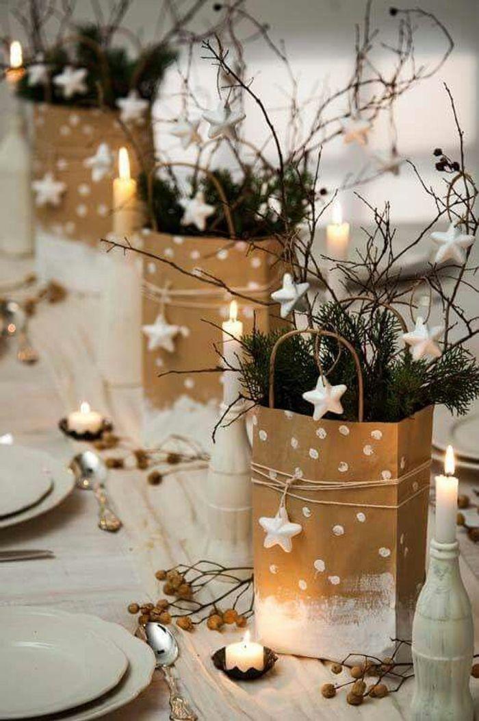 Une table de fête créative