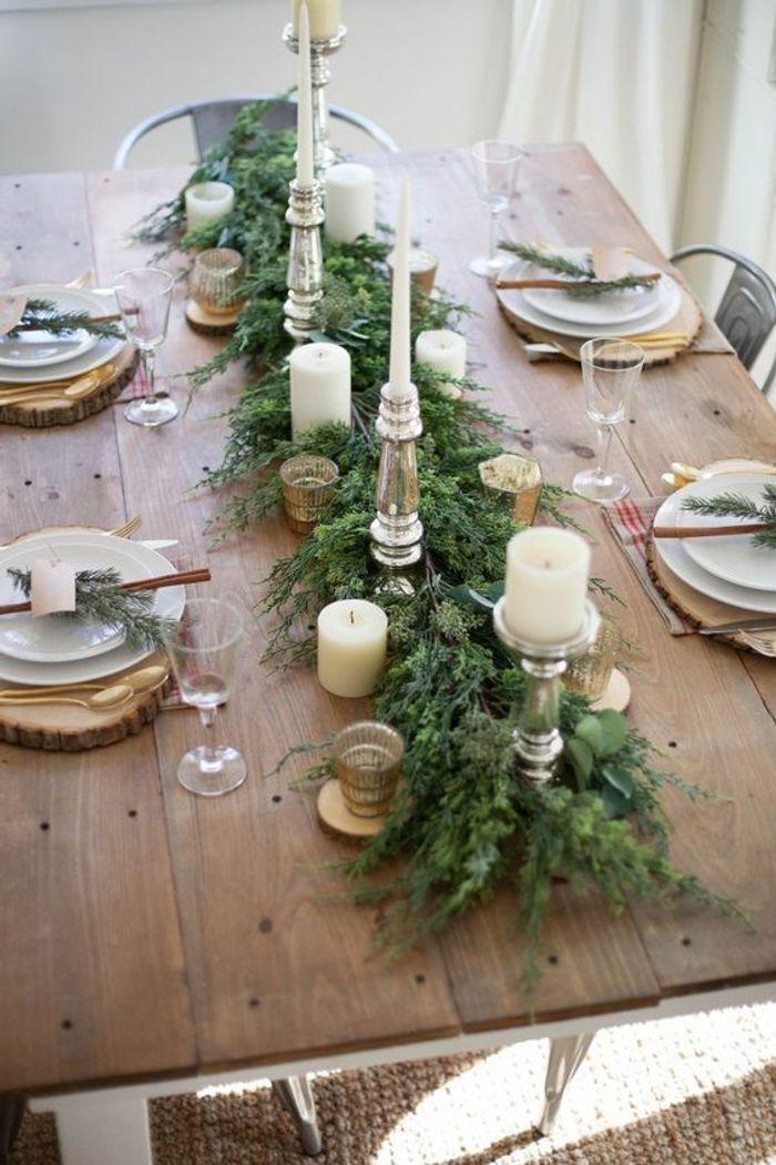 Une table de fête raffinée