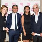 Françoise-Marie Santucci (ELLE), Ramzi Khiroun (Lagardère SCA), Constance Benqué (ELLE) et Richard Ducousset (Ed. Albin Michel)