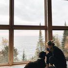Honeymoon House on Superior Pebble Beach, Lutsen, Minnesota, US